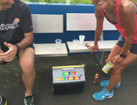 "Ayako's ""Happy Birthday Cooler"" courtesy of VT"